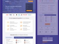 Landing page for Edureka For Business