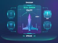 Futuristic UI concept