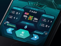 Game UI/ Dashboard