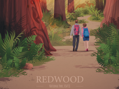 Redwood ― poster design