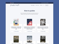 Library of how-to guides marketing design how-to guide blog design