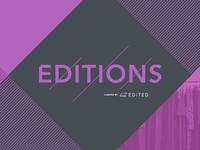 EDITIONS branding