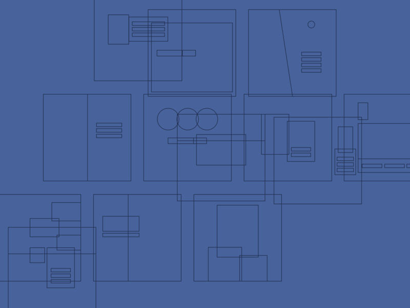 A different take on the landing pages pattern illustration outline illustration outline