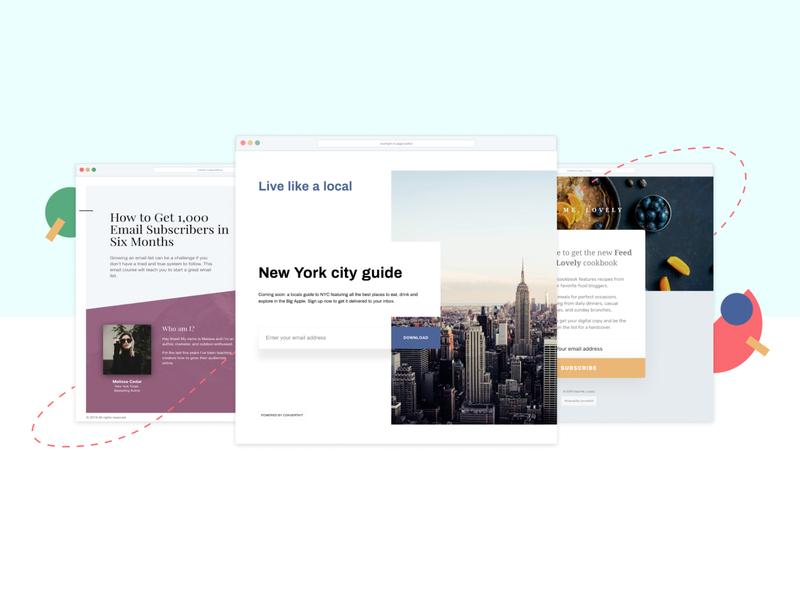 Landing Pages Hero Image