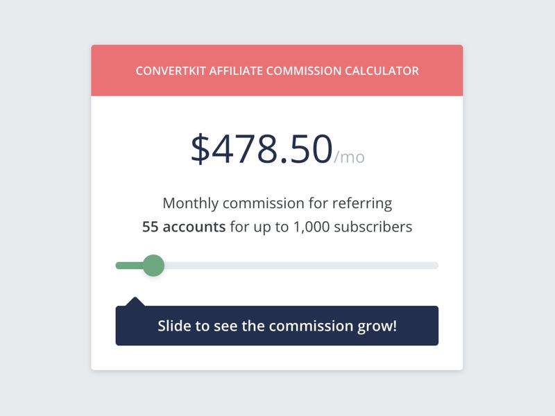 Affiliate Commission Calculator