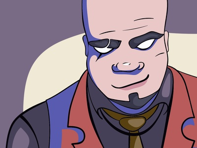 Vladimir - Russian gangster illustration character gangster russian