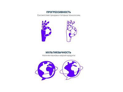 Progressive and multilanguage icons web icons icon multilingual progressive