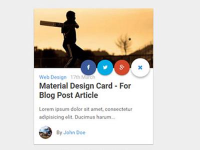 Blog & news card card design ux design news media blog