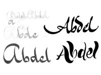 Abdel Sketch