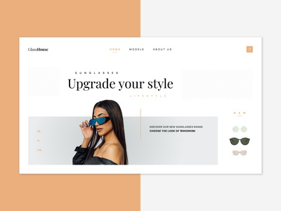 GlassHouse 🕶| Concept store