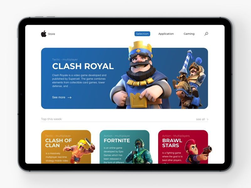Apple Store 📱| Redesign by Julien Hardy 🙋🏼 ♂ on Dribbble