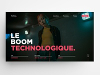 Techtour 2019 🤖(event banner) | A fictional event