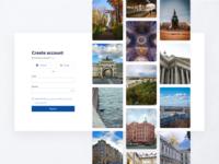 Tourist platform registration