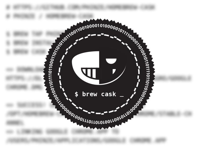 brew cask badge