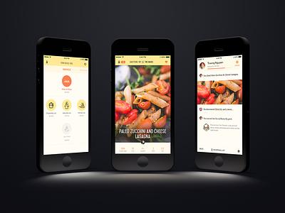 Chopp Kitchen iOS warm hot food culinary education ios