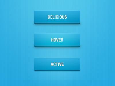 Delicious Button v2 ui button
