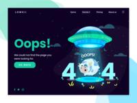 Error 404 Landing Page