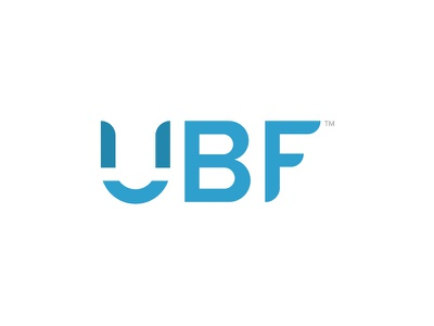UBF Logo custom type consulting ubf logo identity branding