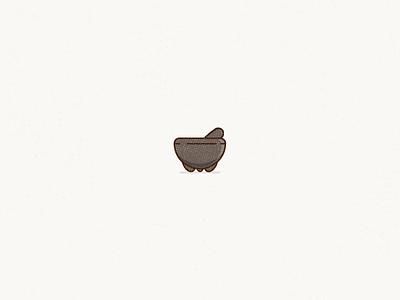 Molkaˈxete pestle mortar design mexico molcajete illustration