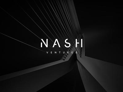 Nash Ventures Logo architecture mark logo brand identity branding