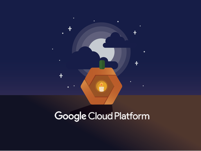 GCP Halloween fall halloween jackolantern pumpkin google cloud platform gcp google