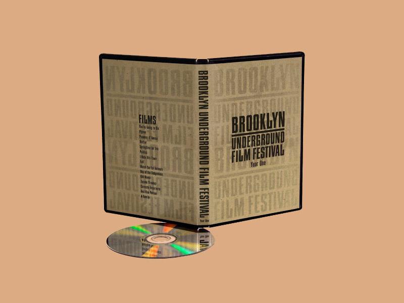 Brooklyn Underground Film Festival brand identity identity design brand design package design branding art design illustration print design logo typography