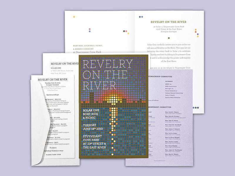 S1 Revelry Invitation brand identity typography type design print design art direction tesla photography vector illustration branding art design
