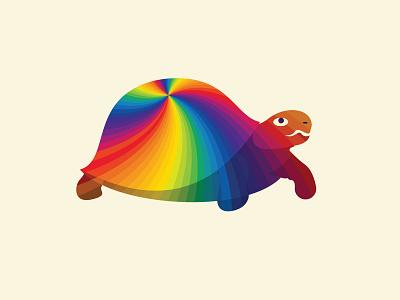 Colorful Turtle design inspiration logo abstract vector tortoise turtle colorful tortoise logo tortoise logo turtle logo colorful turtle