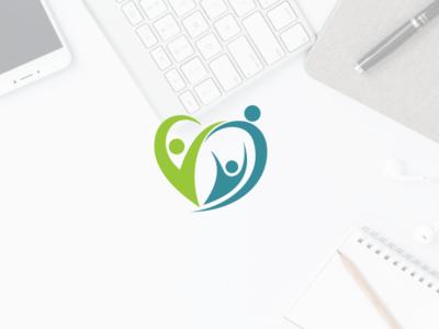 Hearts child care logo