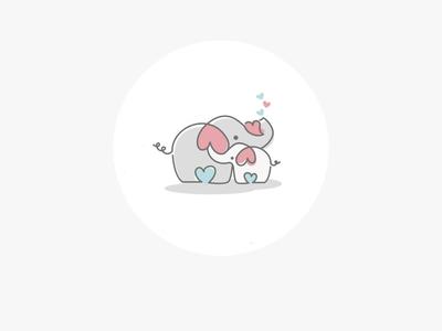 Baby elephant design care design