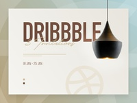 3 Dribbble Invitations