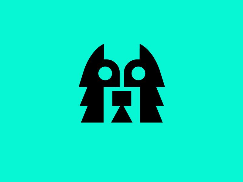 Husky logos modern design logo icons dribbble popularshots popularlogos popular whatsnew colorfullogos cleanlogos simplelogos minimallogos animallogos animals huskylogos husky
