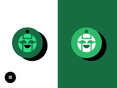 Robot No. 5 Ver. 2 (Color Layout) whatsnew emblems marks favicons cleanlogos simplelogos minimallogos modernlogos logos robotlogos robots