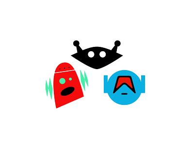 Robot Logos No.  8 applogos appicons marks robotics robot robots robotlogos symbols icons favicons emblems whatsnew modernlogos cleanlogos simplelogos minimallogos logos