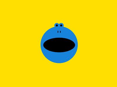 Blue Frog animallogos froglogos frogs frog appicons applogos marks animals symbols icons favicons emblems whatsnew modernlogos cleanlogos simplelogos minimallogos logos