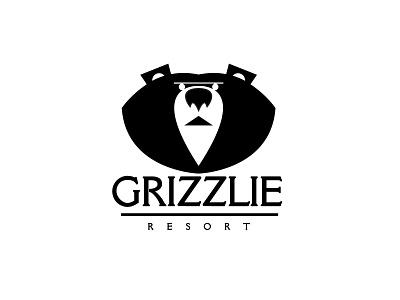 Grizzlie Resort marks symbols icons appicons applogos companynames logoandcompanynames animal animallogos animals bear bears bearlogos emblems whatsnew modernlogos cleanlogos simplelogos minimallogos logos