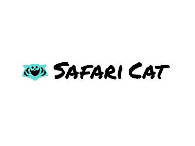 Safari Cat icons applogos kids animallogos animal animals companynames logoandcompanynames tigerlogos tiger tigers emblems whatsnew modernlogos cleanlogos simplelogos minimallogos logos