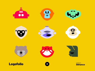 Logofolio - Powered by Behance robotlogos animals animallogos applogos favicons icons marks symbols emblems portfolio portfolios behance logofolio logo whatsnew modernlogos cleanlogos simplelogos minimallogos logos