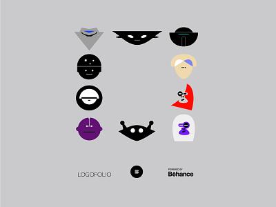 Logofolio 5 - Powered by Behance portfolio appicons applogos symbols robotlogos robots robot logofolio behance icons logo whatsnew emblems modernlogos cleanlogos simplelogos minimallogos logos
