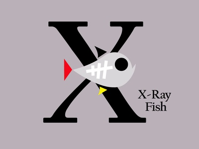 Letters of the Alphabet - X marks icons symbols applogos appicons alphabets animallogos animals animal fishlogos fishes fish design emblems whatsnew modernlogos cleanlogos simplelogos minimallogos logos