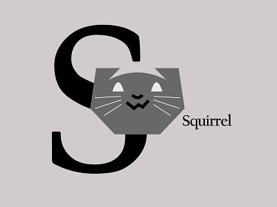Letters of the Alphabet - S mammallogos marks symbols icons applogos mammals animallogos animals animal squirrellogos squirrels squirrel emblems whatsnew modernlogos cleanlogos simplelogos minimallogos logos