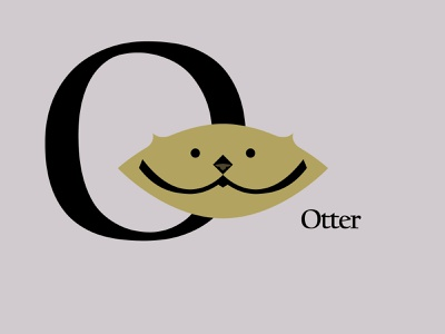 Letters of the Alphabet - O marks icons symbols alphabet mascots applogos appicons animallogos animal animals otterlogos otters otter emblems whatsnew modernlogos cleanlogos simplelogos minimallogos logos