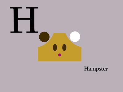 Letters of the Alphabet - H mammals appicons applogos symbols marks favicons icons alphabet hamsterlogos hamster animal animallogos animals emblems whatsnew modernlogos cleanlogos simplelogos minimallogos logos