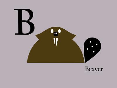 Letters of the Alphabet - B appicons icons favicons symbols marks applogos alphabet animallogos animal animals beaverlogos beavers beaver emblems whatsnew modernlogos cleanlogos simplelogos minimallogos logos