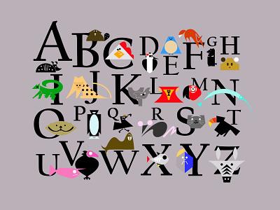 Letters of the Alphabet alphabet zebras icons favicons symbols marks appicons applogos beavers lions birds animallogos animals emblems whatsnew modernlogos cleanlogos simplelogos minimallogos logos