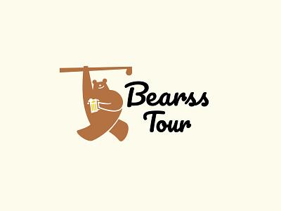 Bearss Tour sports appicons applogos logoandcompanynames symbols marks animallogos animals animal bear bearlogos bears golf modernlogos cleanlogos simplelogos minimallogos logos