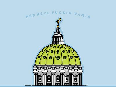 Pennsylvania pennsylvania dome harrisburg descendents milogoestocollege
