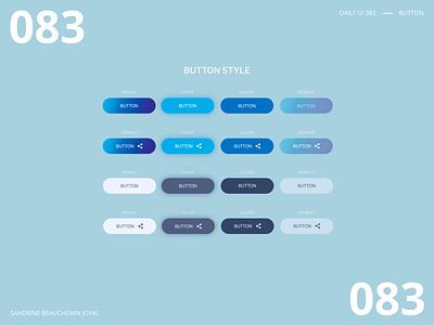 Daily UI 083 -  Button ui ui design adobe illustrator button styles button states design system buttons button daily ui 100 daily ui challenge daily ui 083