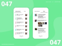 Daily UI 047 - Activity Feed