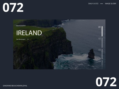 Daily UI 072 - Image Slider